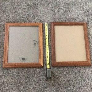 Two versatile picture frames